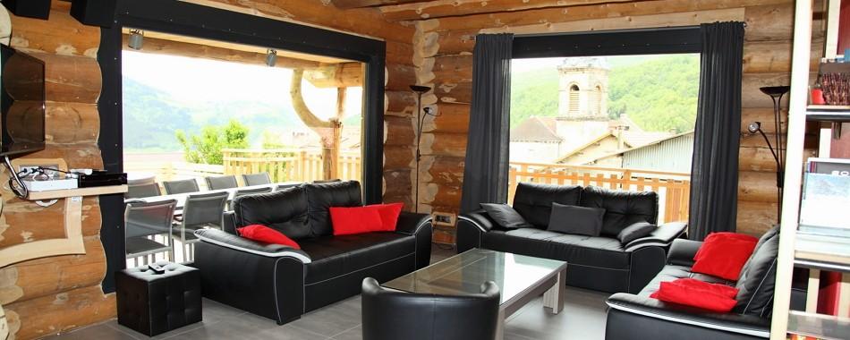 gite-tilleul-luxe-10-12-personnes-villard-de-lans-vercors - Rencurel - Glénat - écogîte